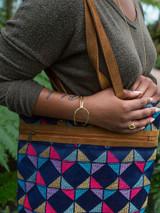 front clasp loop bracelet brass | Fair Anita