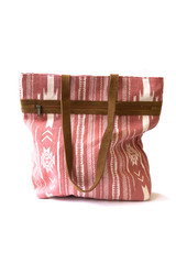 Pink and White Patterned Purse | Fair Anita