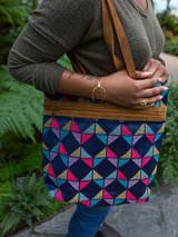 Multi-color geometric tote | Fair Anita