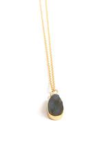 Long Uncut Stone Necklace | Fair Anita