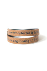 Anne Frank quote bracelet | Fair Anita