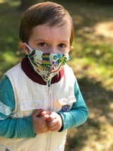 Cotton fair trade face mask kids | Fair Anita