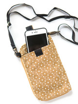 cell phone wallet with crossbody strap - Ethically Made | Fair Anita