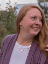 geometric shapes chunky necklace | Fair Anita