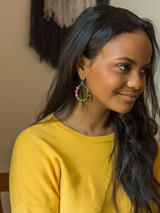 colorful teardop earrings | Fair Anita