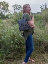Socially responsible canvas backpack | Fair Anita
