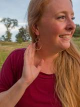 Double Loop Sterling Earrings