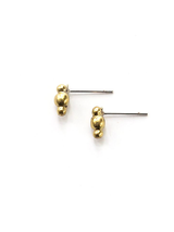 tiny brass multi dot studs | Fair Anita