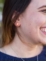 Little fair trade copper stud earrings   Fair Anita