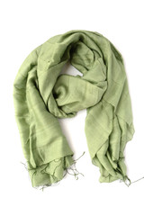 Light olive green fair trade scarf | Fair Anita