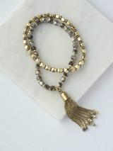 Metal tassel elastic bracelets | Fair Anita