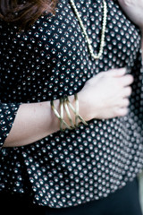 Big brass cuff bracelet | Fair Anita
