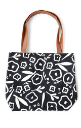Flower pattern fair trade tote bag | Fair Antia