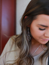 Funky circle earrings | Fair Anita