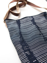 Black and white patterned crossbody purse | Fair Anita