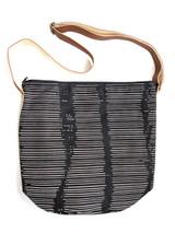 Black and white patterned crossbody purse   Fair Anita