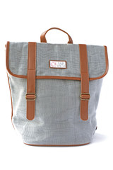Grey fair trade backpack | Fair Anita