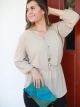 Colorful fair trade clutch wallet | Fair Anita