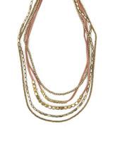 Adjustable suede and brass necklace | Fair Anita
