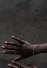 Fair trade feminist cuff bracelet | Fair Anita