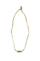 Emnet Dainty Necklace - Brass