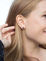 Recycled bone stud earrings | Fair Anita