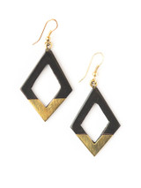 Mountain Peak Horn Earrings