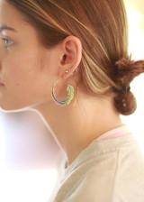 gold spiral earrings | Fair Anita