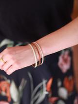 brass bangle set | Fair Anita