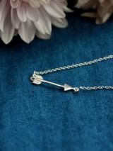 silver arrow necklace | Fair Anita