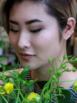 small gold star earrings | Fair Anita