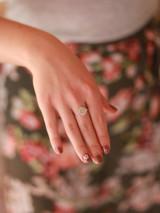 rainbow stone ring  | Fair Anita