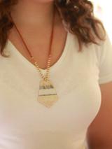screenprint pattern necklace | Fair Anita