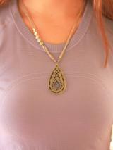 animal bone cutout necklace | Fair Anita