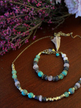Playful Pastels Beaded Bracelet | Fair Anita