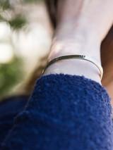 thin silver cuff bracelet | Fair Anita