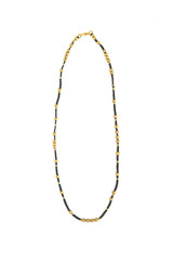 Artillery black and gold choker necklace | Fair Anita