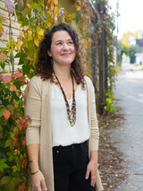 layered mixed metal necklace with upcycled leather | Fair Anita
