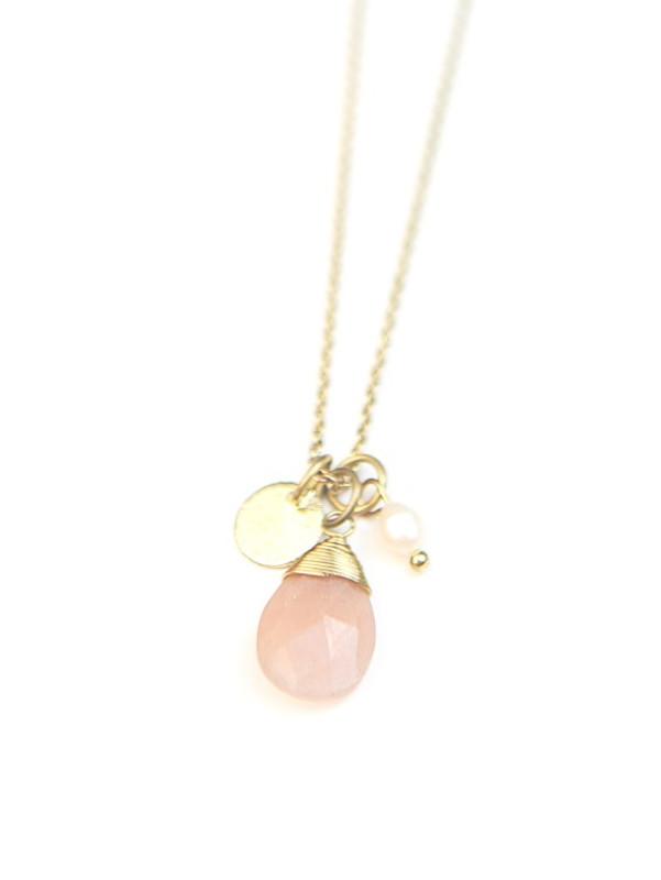 Tiny Treasures Necklace - Brass