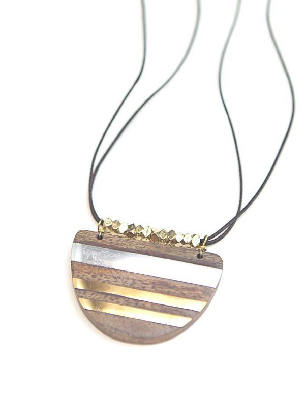 Elemental Stripe Necklace