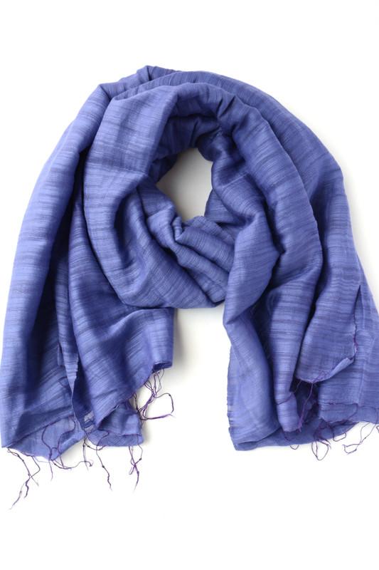 Tham Handwoven Scarf - Ultraviolet Purple
