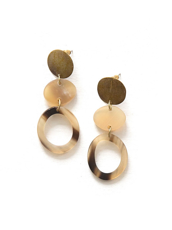 Maverick Horn Earrings