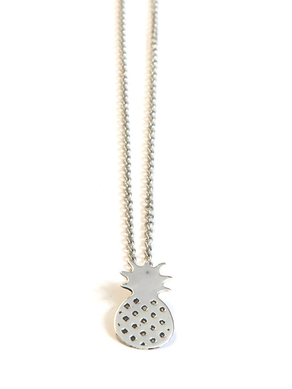 Summer Sweetness Pineapple Necklace