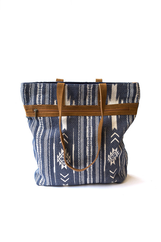 Rover Patterned Purse - Blue