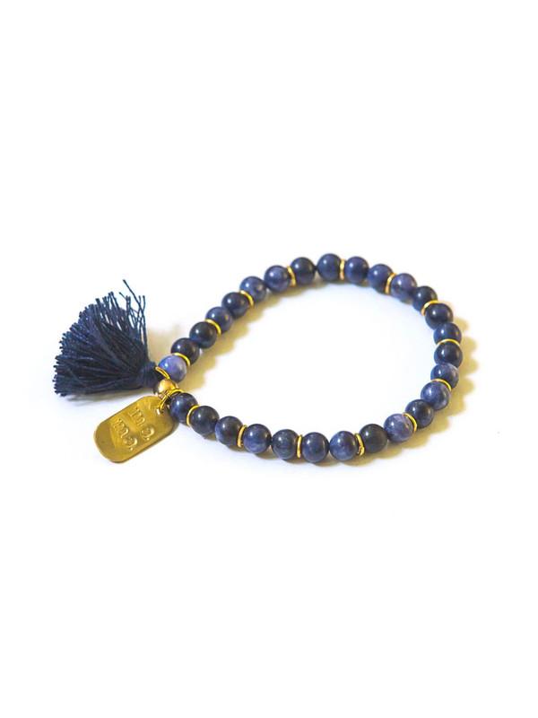 Mother's Love Stone Bracelet - Sodalite