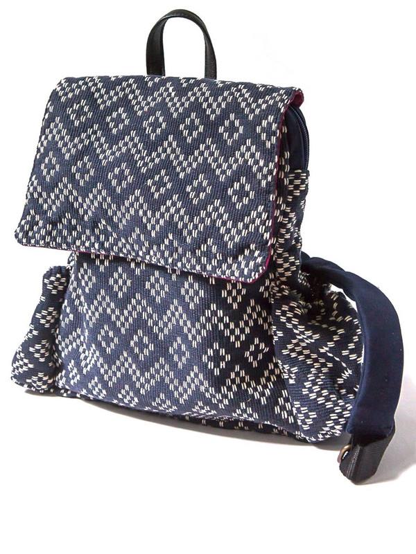 Journeyer Backpack - Woven Geometrics