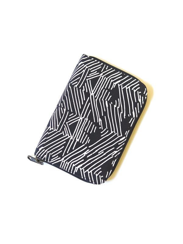Zip Folder Jewelry Travel Organizer Case - Black Matchstick
