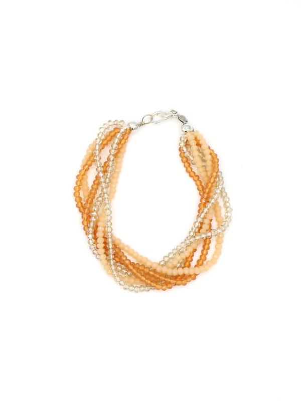 Multistrand Sparkle Bracelet - Peachy Keen