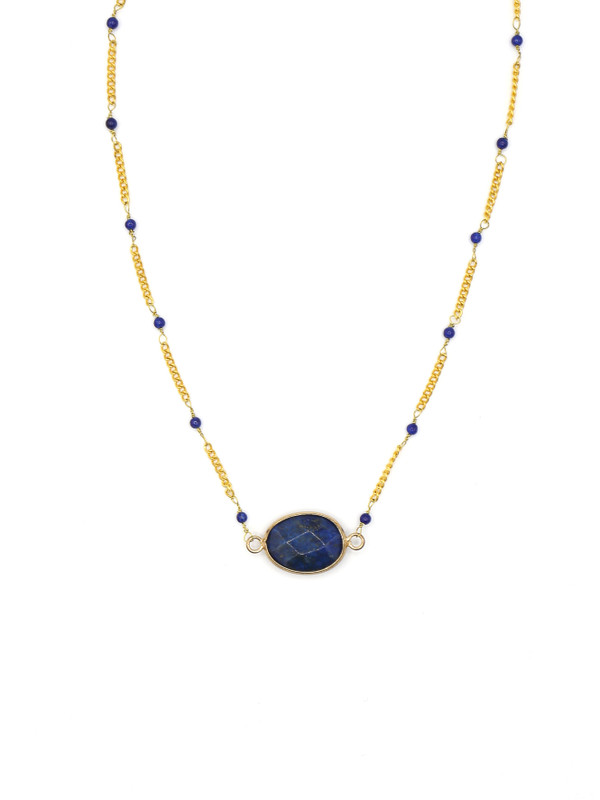 Luxe Lapis Necklace