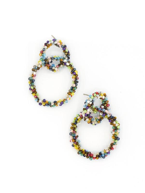 Loop de Loop Beaded Earrings